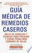 Libro de Guia Medica De Remedios Caseros