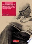 Libro de Las Universidades De Mariano Ruiz Funes