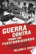 Libro de Guerra Contra Todos Los Puertorrique–os
