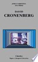 Libro de David Cronenberg