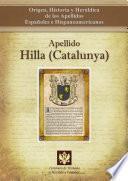 Libro de Apellido Hilla (catalunya)