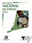 Libro de Encuesta Nacional De Empleo. Sinaloa. 1996