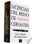 Libro de Noticias Del Reino De Cervantes