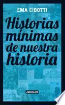 Libro de Historias Mínimas De Nuestra Historia