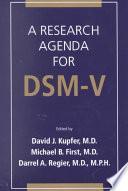 Libro de Agenda De Investigación Para El Dsm V