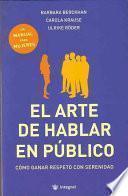 Libro de El Arte De Hablar En Público
