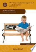 Libro de Autonomía Personal Y Salud Infantil. Ssc322_3