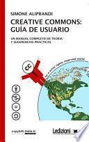 Libro de Creative Commons: Guı́a De Usuario