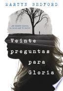 Libro de Veinte Preguntas Para Gloria
