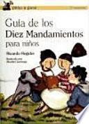 Libro de Guía De Los Diez Mandamientos Para Niños