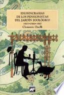 Libro de Idiosincrasias De Los Pensionistas Del Jardín Zoológico (1908 1909 1910)