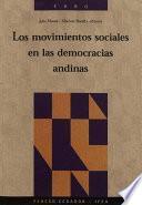 Libro de Los Movimientos Sociales En Las Democracias Andinas