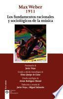 Libro de Los Fundamentos Racionales Y Sociológicos De La Música