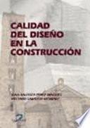 Libro de Calidad Del Diseño En La Construcción