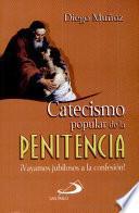 Libro de Catecismo Popular De La Penitencia