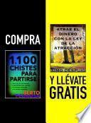 Libro de Compra 1100 Chistes Para Partirse Y Llévate Gratis Atrae El Dinero Con La Ley De La AtracciÓn