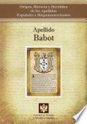 Libro de Apellido Babot