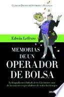 Libro de Memorias De Un Operador De Bolsa