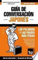 Libro de Guia De Conversacion Espanol Japones Y Mini Diccionario De 250 Palabras