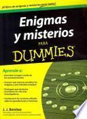Libro de Enigmas Y Misterios Para Dummies