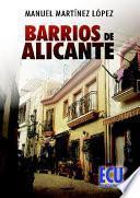 Libro de Barrios De Alicante