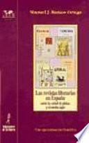 Libro de Las Revistas Literarias En España Entre La Edad De Plata Y El Medio Siglo