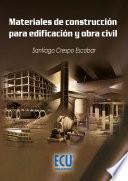Libro de Materiales De Construcción Para Edificación Y Obra Civil