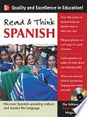 Libro de Read And Think Spanish (book +1 Audio Cd)