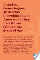 Libro de Legados, Genealogías Y Memorias Poscoloniales