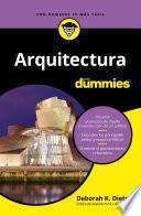 Libro de Arquitectura Para Dummies