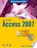 Libro de Manual Imprescindible De Access 2007
