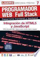 Libro de Programador Web Full Stack 7   Curso Visual Y