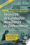 Libro de Técnicos En Cuidados Auxiliares De Enfermería Del Servicio De Salud Del Principado De Asturias (sespa) . Temario Específico. Volumen 2