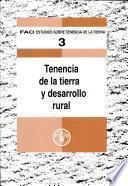 Libro de Tenencia De La Tierra Y Desarrollo Rural