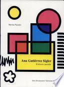 Libro de Ana Gutiérrez Sígler