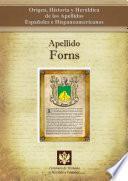 Libro de Apellido Forns