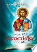 Libro de Novena Bíblica A Jesucristo Divino Maestro