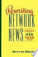 Libro de Rewriting Network News