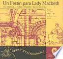 Libro de Un Festín Para Lady Macbeth