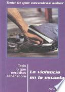 Libro de School Violence, Ntk Spanish
