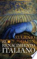 Libro de El Renacimiento Italiano