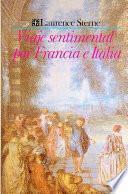 Libro de Viaje Sentimental Por Francia E Italia