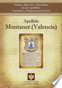 Libro de Apellido Montaner.(valencia)