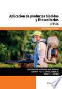 Libro de Uf1506   Aplicación De Productos Biocidas Y Fitosanitarios