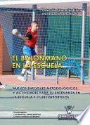 Libro de El Balonmano En La Escuela. Nuevos Enfoques Metodológicos Y Actividades Para Su Enseñanza En La Escuela Y Clubs Deportivos