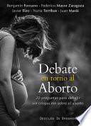 Libro de Debate En Torno Al Aborto