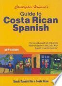Libro de Guide To Costa Rican Spanish