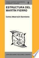 Libro de Estructura Del Martín Fierro