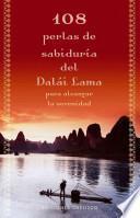 Libro de 108 Perlas De Sabiduría Del Dalái Lama Para Alcanzar La Serenidad