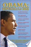 Libro de Obama: Respuestas A La Crisis